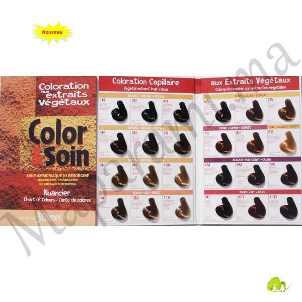 les 3 chenes color color soin coloration permanente extraits vgtaux - Nature Et Soin Coloration Permanente