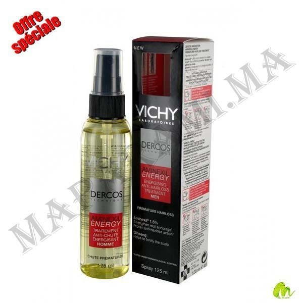 Vichy Dercos Aminexil Energy Homme Spray 125 Ml Maparami