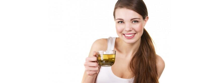 Tisane et huile  alimentaire