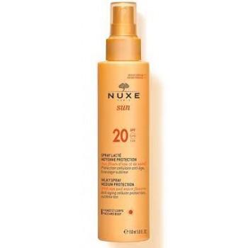 NUXE SUN Spray lacté visage...