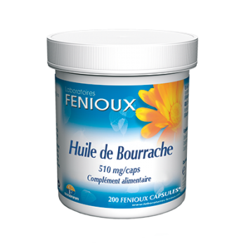 FENIOUX HUILE DE BOURRACHE