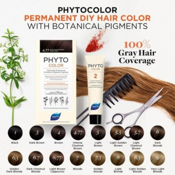 PHYTOCOLOR 3 CHATAIN FONCE...