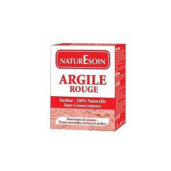 NaturE soin Argile rouge...