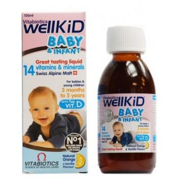 WELLKID BABY SIROP 150ML